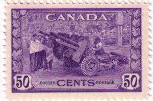 George VI War Issue Stamps 4