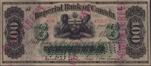 Imperial Bank of Canada - Counterfeit