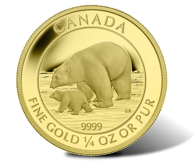 Canada 2015 Polar Bear And Cub North Shore Numismatic