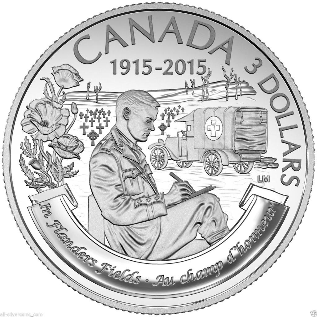Canada $3 1915-2015