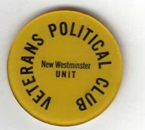 New Westminster Veterans Political Club