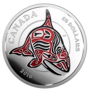 Haida Orca 2016 50 Dolllars