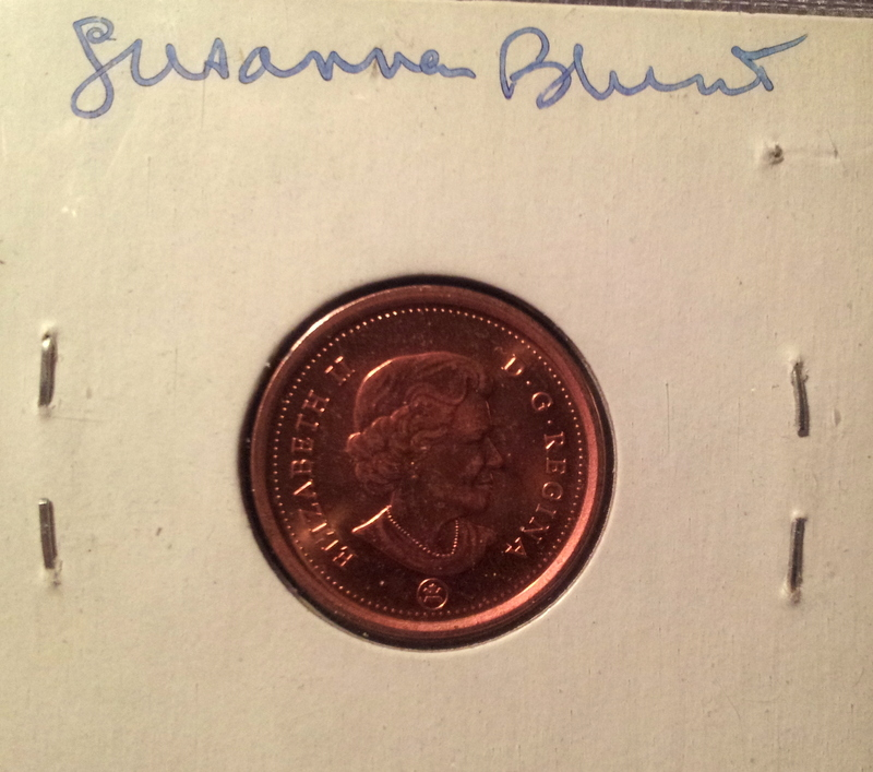 2012 Elizabeth II by Susanne Blunt with signature