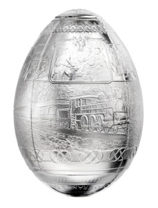 3D Egg Shaped - front