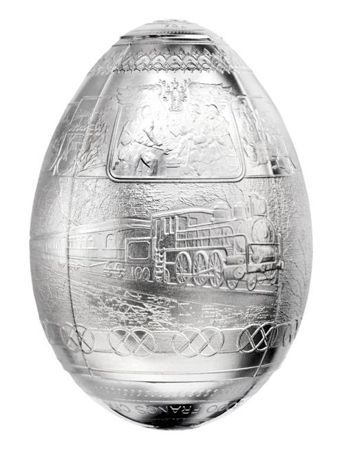 3D Egg Shaped - front
