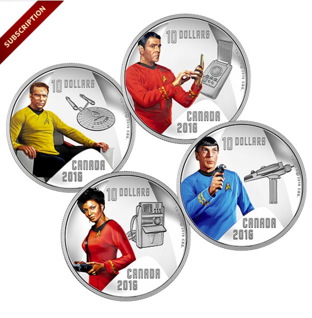 Star Trek Coins