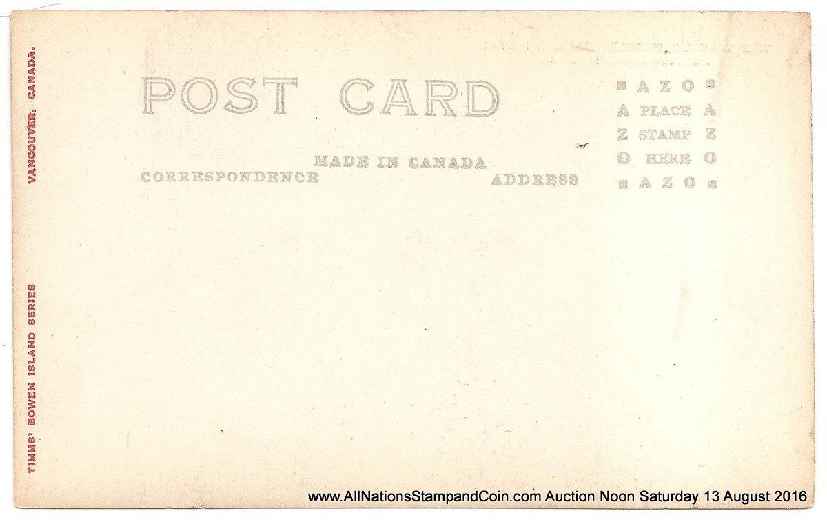Philip Timms Bowen. Island postcard