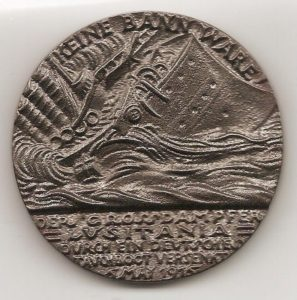 Lusitania Medal - Face