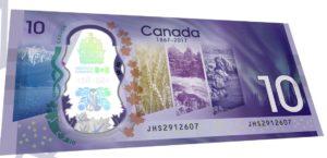 Canada 150 Ten Dollar b
