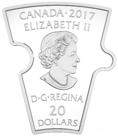 PUzzle Coin - Obverse of each piece