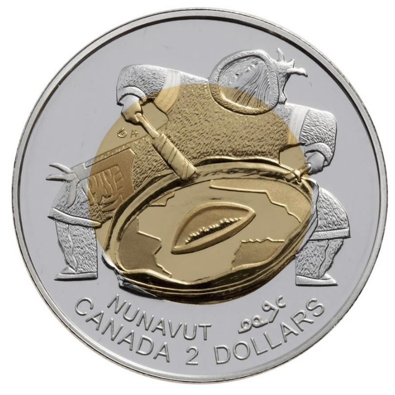 Nunavut 2 Dollars