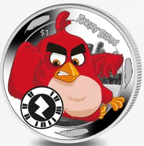 Angry Birds App Coin - Reverse