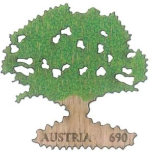 Austrian Tree Stamp