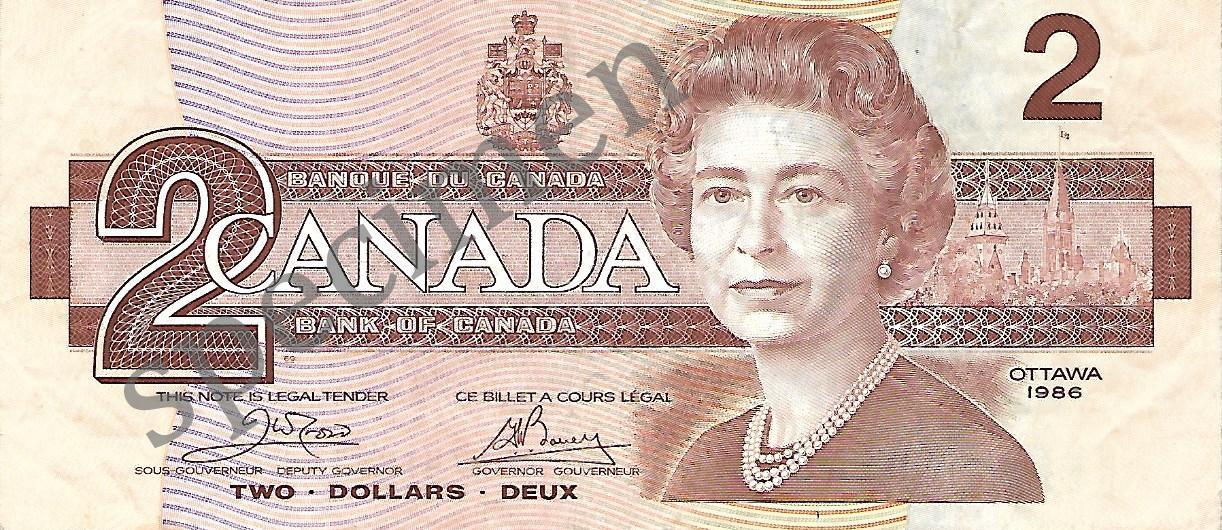 Political $2 Note Vanderzalm 2