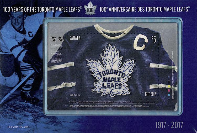 Toronto Maple Leaf Stamp