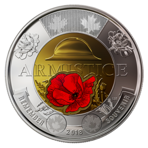 RCM Armistice 2018 two dollars